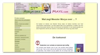 Wat zegt Meester Morya over...?